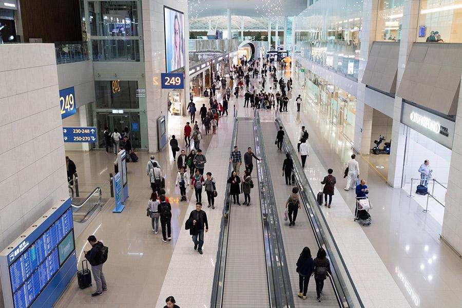 仁川国際空港 第2旅客ターミナル(ソウル)の感想~画像たくさん!~