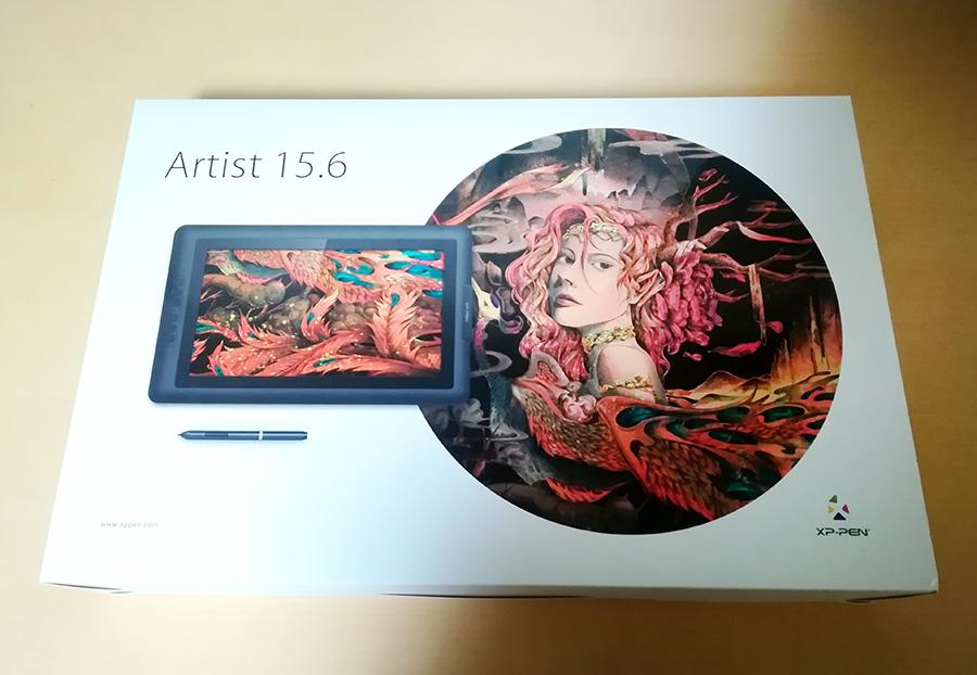 XP-Pen Artist15.6外箱