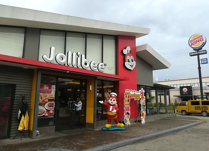 フィリピンの有名ファーストフード「ジョリビー(Jollibee)」をご紹介!