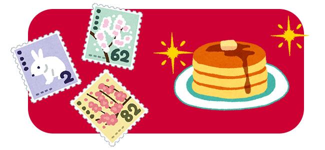 日本郵便から、東京の有名店のスイーツ切手が登場!