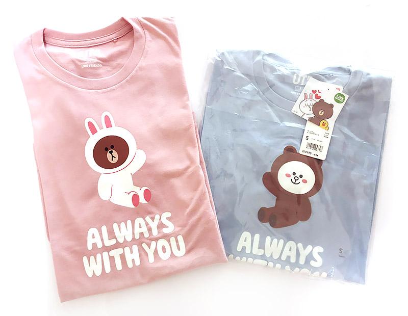 ユニクロ・ラインフレンズのTシャツが可愛いっ!