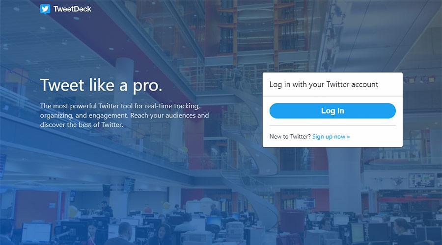 Twitter公式より使いやすいTweetDeckをおすすめ!(PCブラウザ版)
